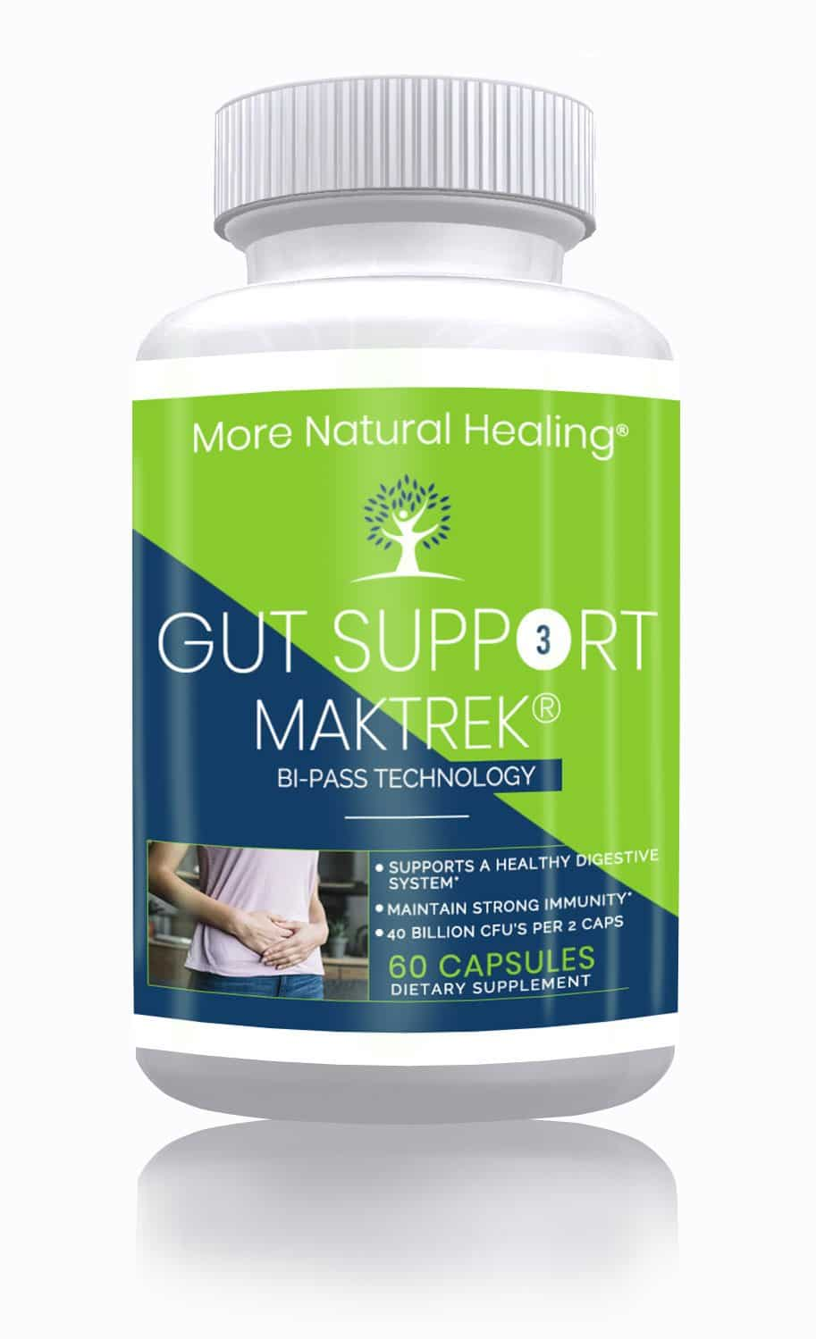 Gut Support - 40 Billion - More Natural Healing
