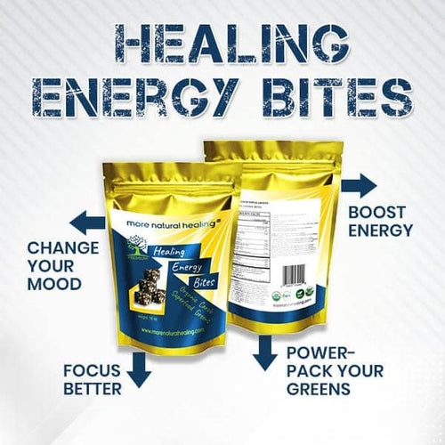 HEALING ENERGY BITES - More Natural Healing