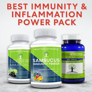 BEST IMMUNITY & INFLAMMATION POWER PACK - More Natural Healing