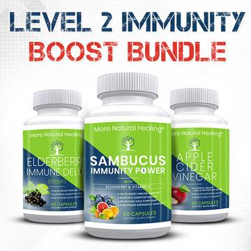 Level 2 Immunity Bundle - More Natural Healing