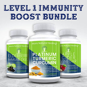 LEVEL 1 IMMUNITY BOOST BUNDLE - More Natural Healing