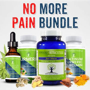 NO MORE PAIN BUNDLE - 4 ITEMS - INTERNET ONLY -  SAVE 30% - More Natural Healing