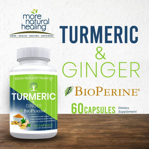 Turmeric & Ginger - More Natural Healing