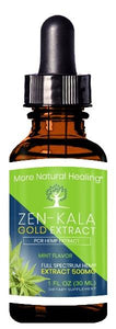 ZEN-KALA GOLD EXTRACT TINCTURE 500 MG - More Natural Healing