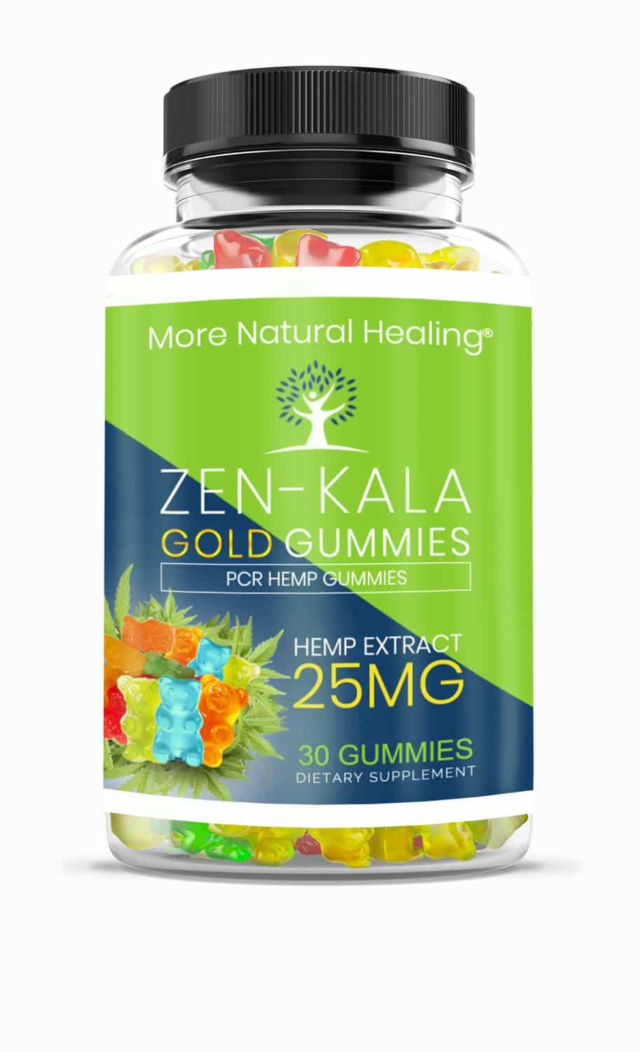 ZEN-KALA GOLD GUMMIES 25 MG - More Natural Healing
