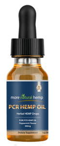 PCR HEMP OIL - 300 MG - More Natural Healing