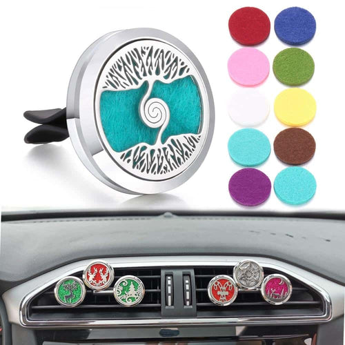 Car Diffuser Clip for Essential Oils - More Natural Healing