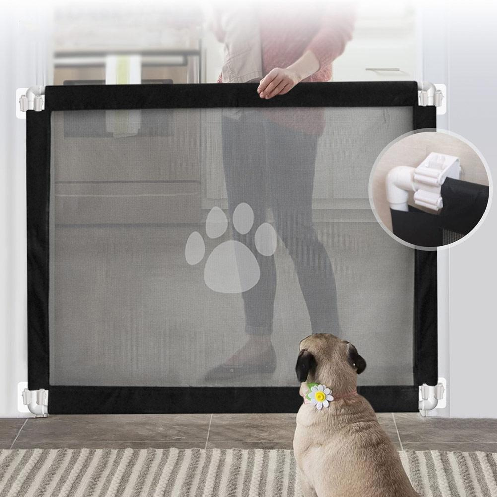 Reinforced Mesh Pet Safety Gate