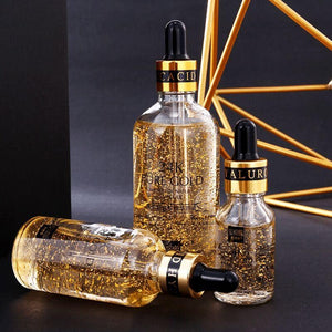24k Gold Hyaluronic Acid Face Serum & Moisture