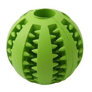Dog or Cat Interactive Treat Rubber Balls - More Natural Healing