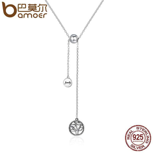 925 Sterling Silver Delicate Tree of Life Necklace - More Natural Healing