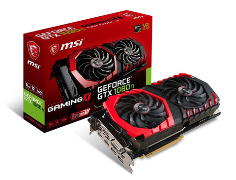MSI GeForce GTX 1080 Ti 11GB GDRR5X 352-bit VR Ready Graphics Card - Crypto Drilling