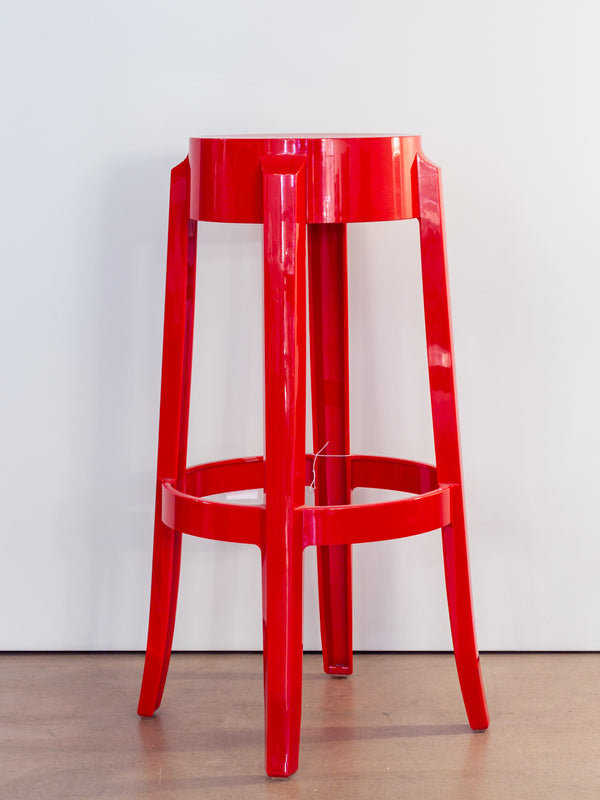 Tabouret I Charles Ghost Rouge Opaque
