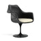 Fauteuil pivotant, structure noire | Collection Saarinen Tulipe - octantdesign.com