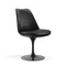 Chaise pivotante, structure noire | Collection Saarinen Tulipe - octantdesign.com