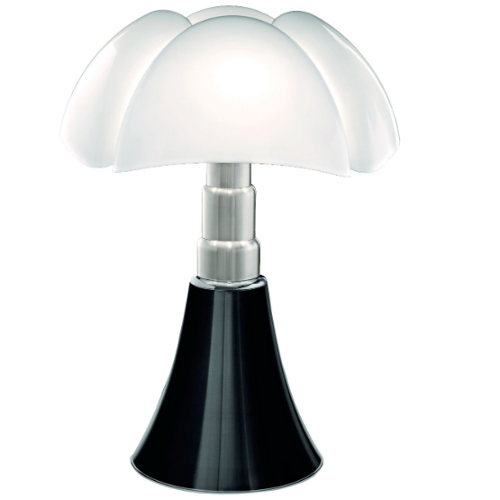 Lampe de table réglable LED H66-86, Pipistrello - octantdesign.com