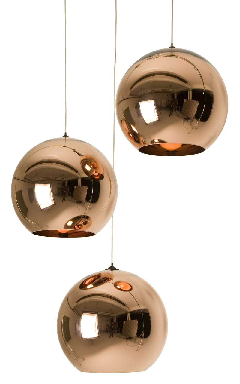 Suspension Copper Round / Ø 45 cm