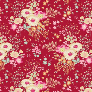 Tilda Quilt collection Lucille Red