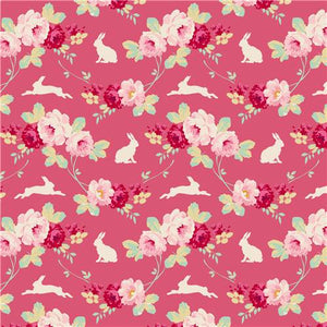 Tilda Quilt Collection Rabbit et Roses Pink