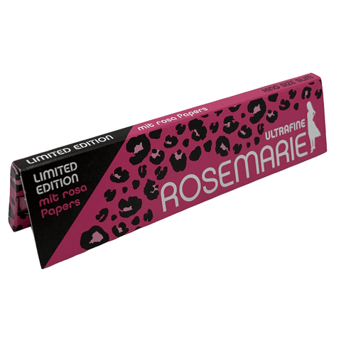 KING SIZE SLIM ROSEMARIE | Rosa Papers - Limited Edition