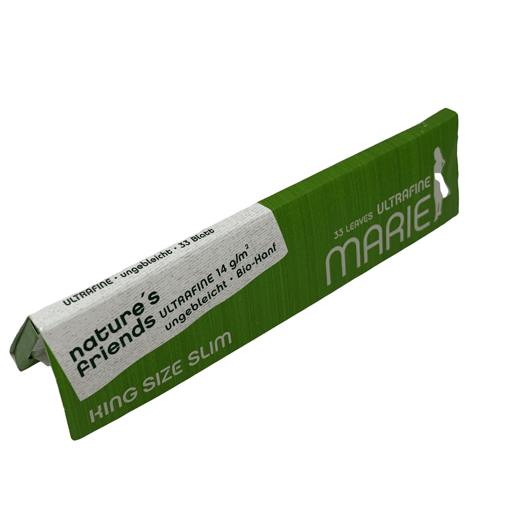 Marie KING SIZE SLIM GREEN | Hemp Rolls