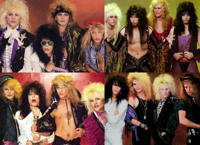 80s Glam Rock Fashion - How Can You Rock It Today