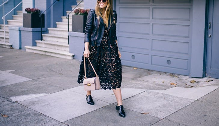 How To Accessorize A Black Lace Dress - A Simple Guide