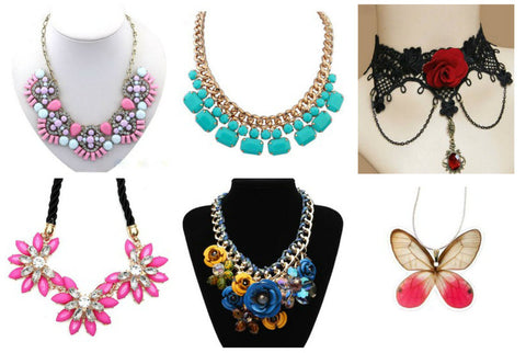 Add colorful jewelry