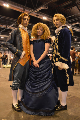 "<img src=""Lestat, Louis and Claudia.jpg"" alt="" the Lestat cast: bring out the glory in black"">"