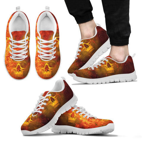 Skull Sneaker For Women