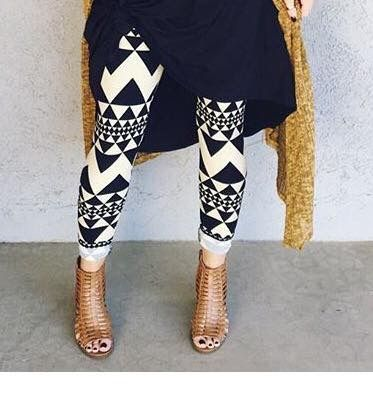 How to wear printed leggings to look chic
