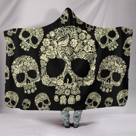 Stylish Skull Blanket