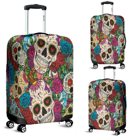 Sugar Skull Luggage