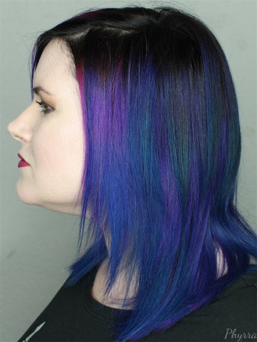 best oil slick hair color helps you standout
