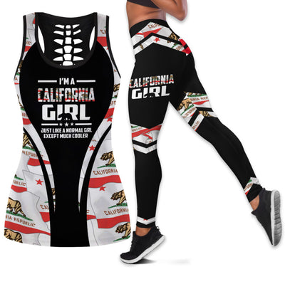 California Girl Tank Top And Legging Set
