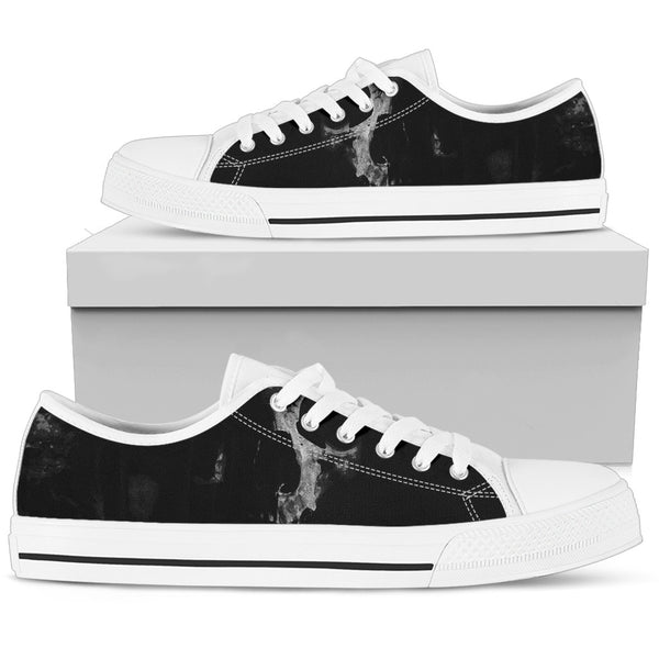 Women's Low Tops Skull (White Sole)