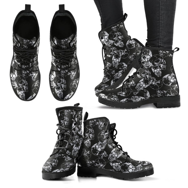 Awesome Skulls Boots