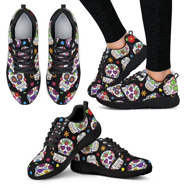 Sugar Skull Athletic Sneakers