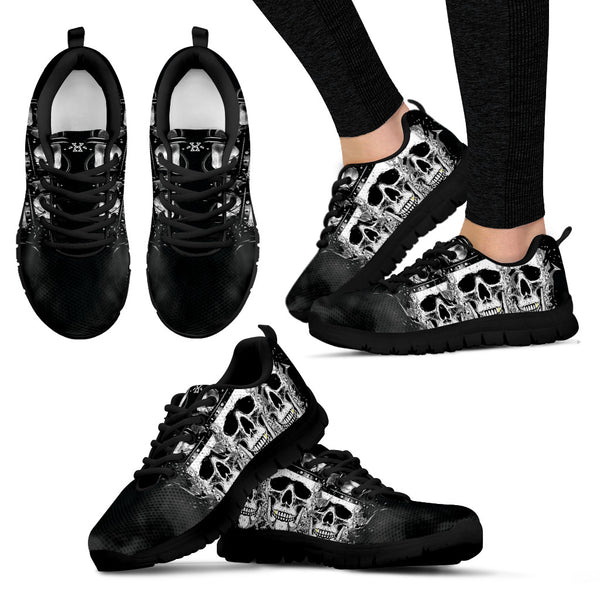 Skull Crown Sneakers