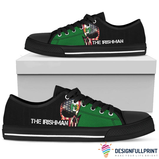 Irish Skull Shoes