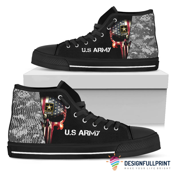 Skull US Army Shoes