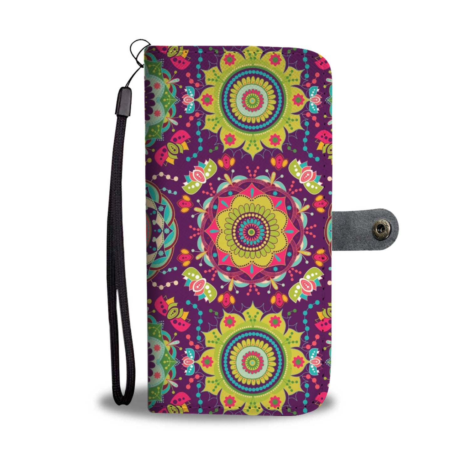 Mandala Phone Wallet Case 01