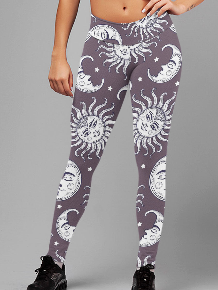 Good Vibes 3D Leggings