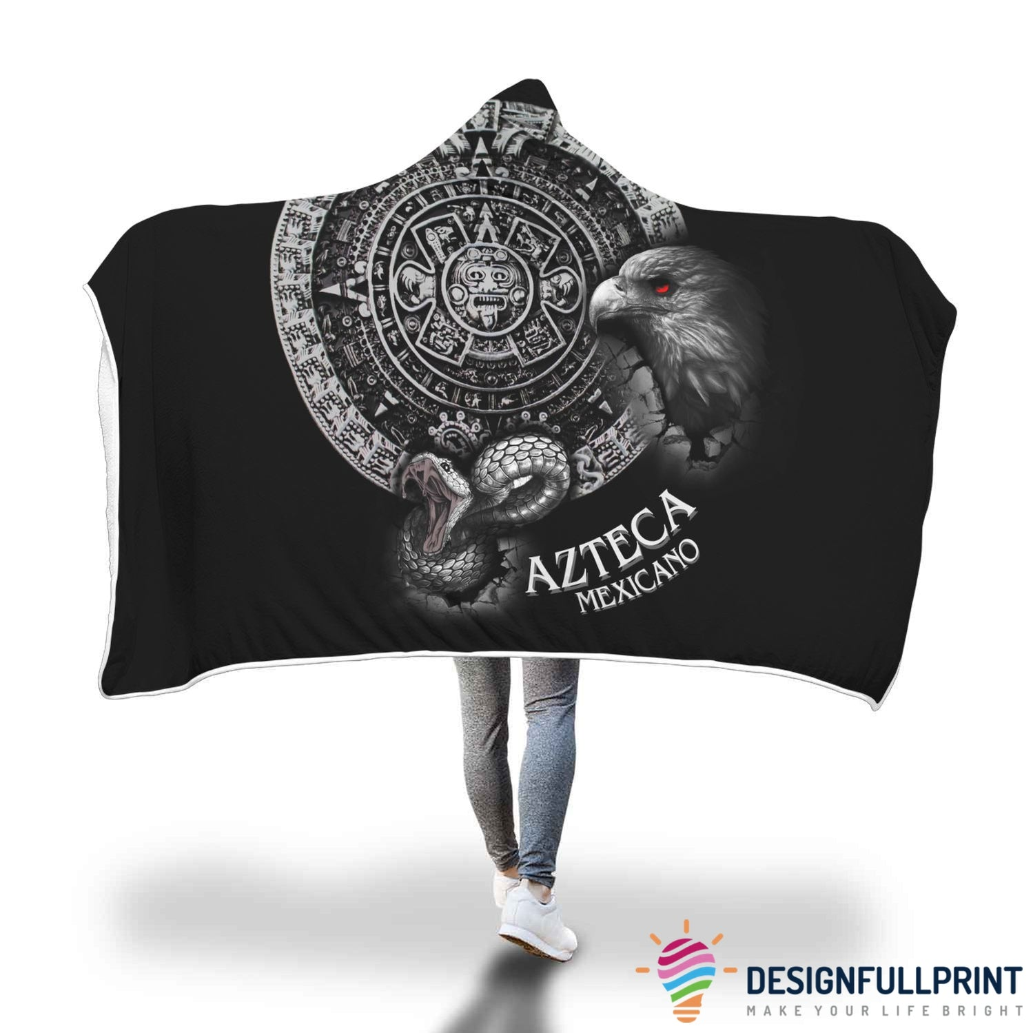 Special Sale: Mexico Lovers Hooded Blanket