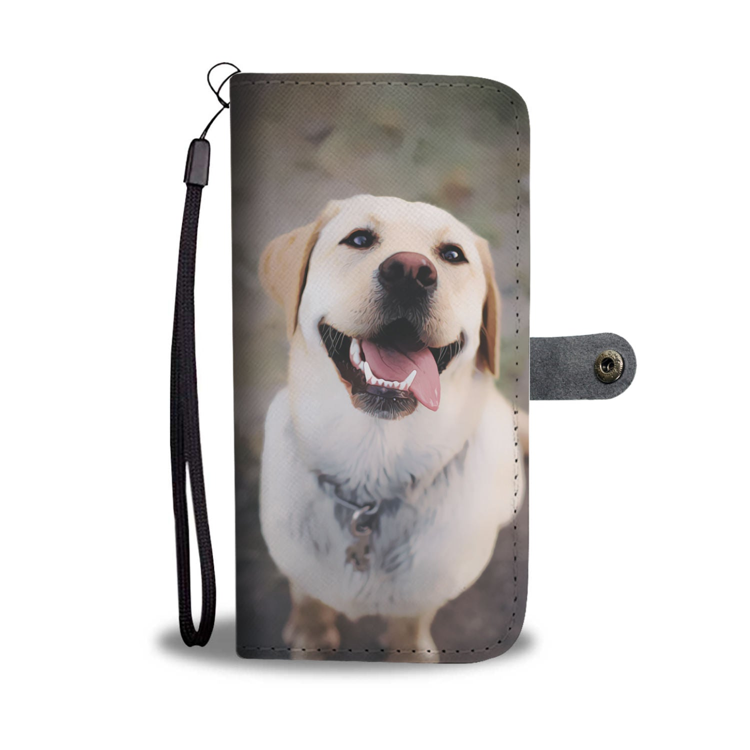 Personalized Labrador Phone Wallet