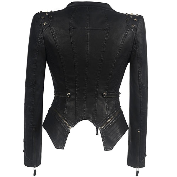 Verona Gothic Leather Jacket