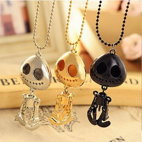 Skull Head Charms Chain Necklaces - designfullprint