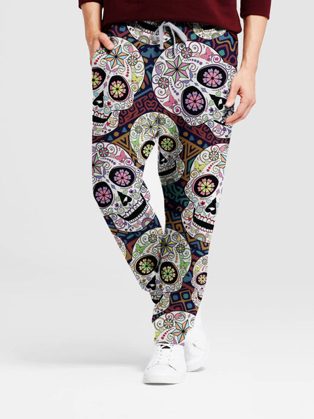 Cinco de Mayo Mexican Skull 3D Leggings/Sweat Pants 006