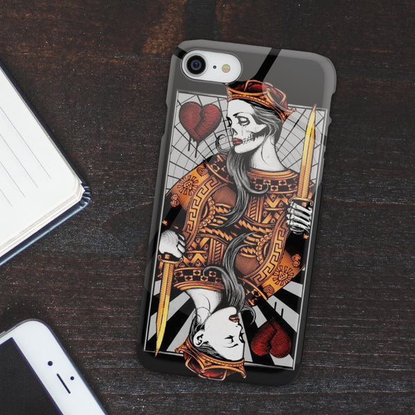 Skull Broken Heart Phone Case