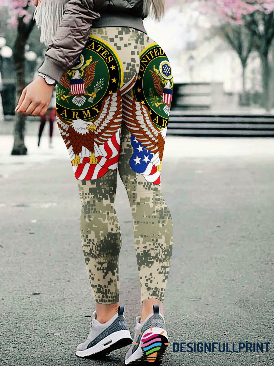 3D Armed Forces US Army Leggings 002